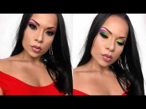 COLORFUL MAKEUP/ JAMES CHARLES X MORPHE PALETTE/HOT MAKEUP/ thumbnail