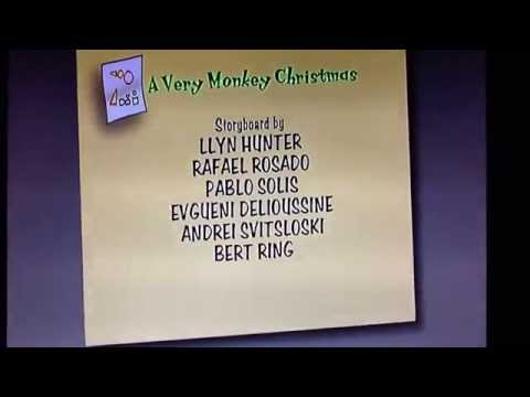 Curious George A Very Monkey Christmas Credits Universal Imagine Entertainment WGBH PBS Kids 2009