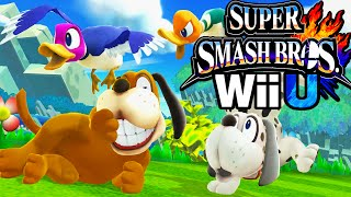 Super Smash Bros 4 Wii U Duck Hunt! Dog Zapper New Character Unlock HD Gameplay Walkthrough PART 3