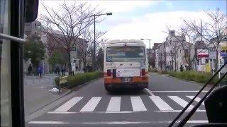 【前面展望】東武バス・西01系統:西新井駅西口発,皿沼循環