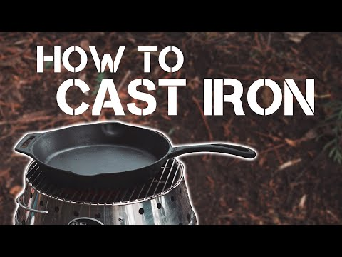 Easy Cast Iron Seasoning At Home | Clean, Restore & Season