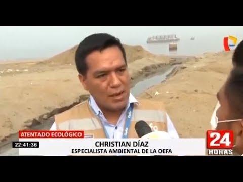OEFA inicia el retiro de tuberías clandestinas en el Callao