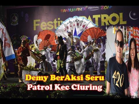 Demy BerAksi Seru,Kec Cluring Penuh Suporter Juara 1 Festival Patrol Ramadhan Banyuwangi 2017