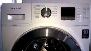 Lava e seca Samsung - Erro 5E ou SE / Como limpar o filtro da lava e seca Samsung