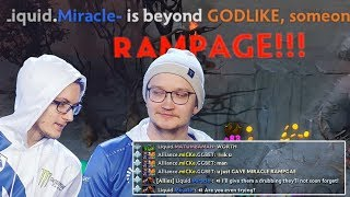 MIRACLE vs MATUMBAMAN - RAMPAGE WITH ANTI-MAGE IS HIS DAILY JOB
