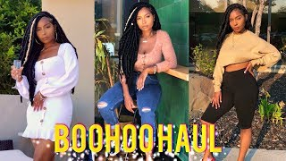 8430307cba BooHoo Fall Clothing Haul