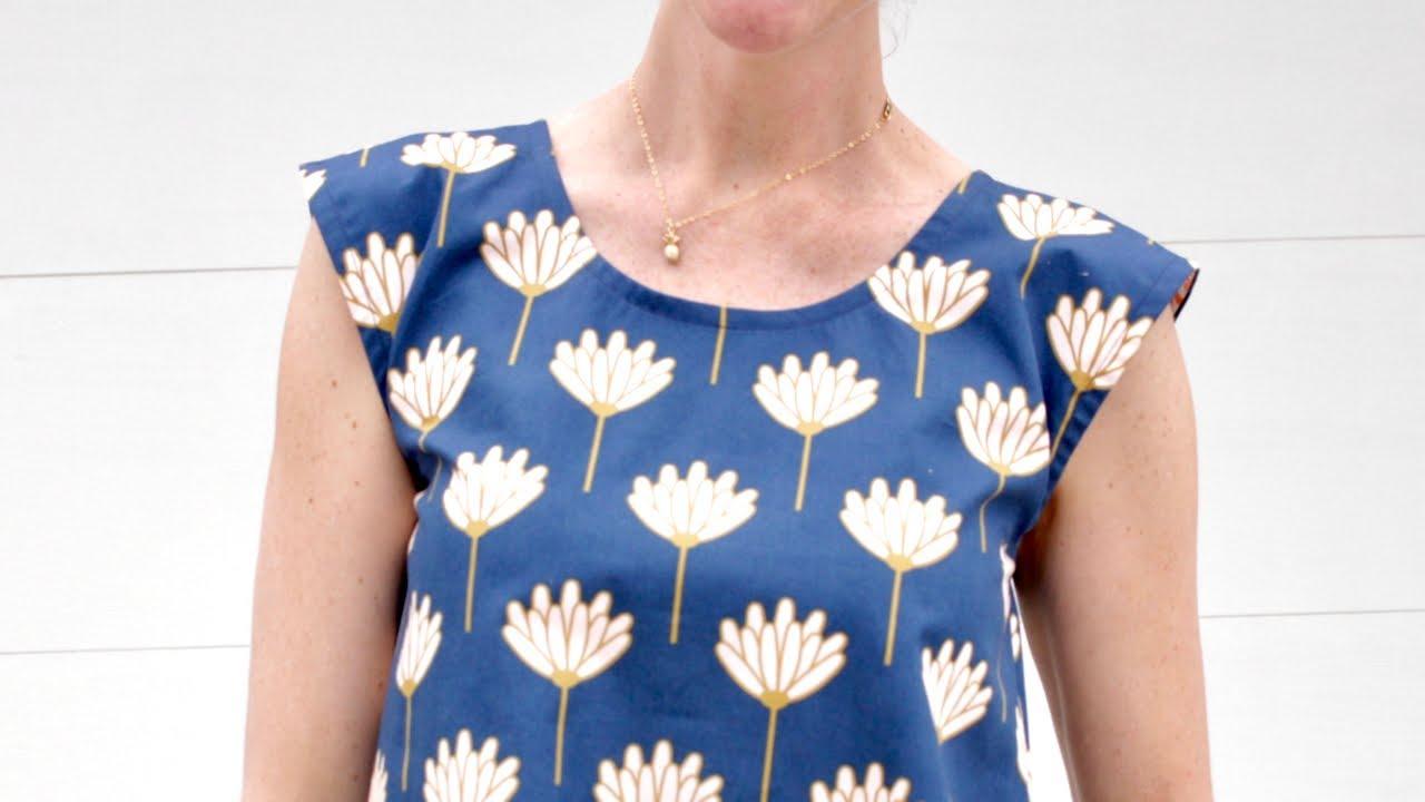 How to Sew a Shirt Neckline