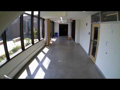 7 6 2017 - UMass Design Building - 3rd Floor Hallway