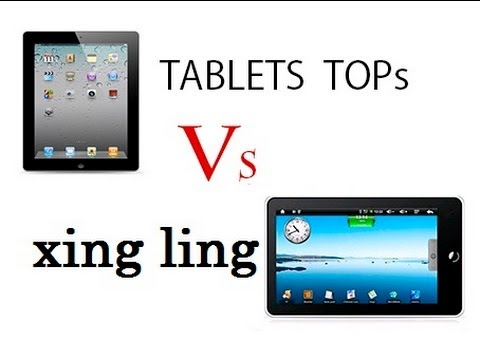 tablets ching ling vs TOPs e demonstração - ptbr