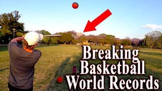 #BreakTheNet Task 1 – Tristan Edwards (Breaking basketball records | WORLD RECORDS!)