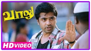 Vaalu Tamil Movie | Scenes |  Simbu Fights With Goons | Hansika