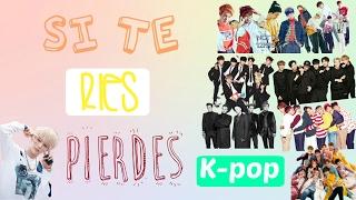SI TE RÍES PIERDES CHALLENGE K-POP | Cony bng