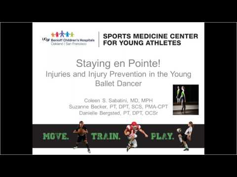 Dance Medicine - Sports Medicine - UCSF Benioff Children's Hospital Oakland