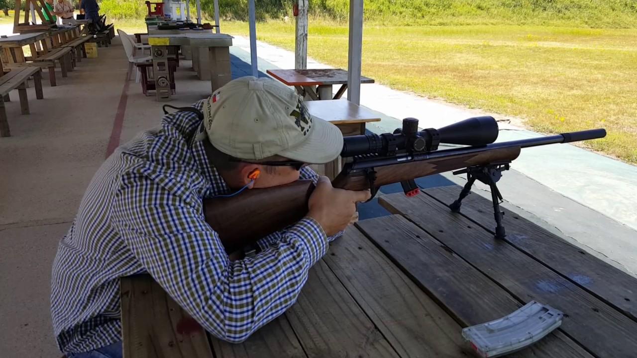 Friday Guns: Anschutz 1727F - 22 AV  Fortner action and S&W Model 617  22