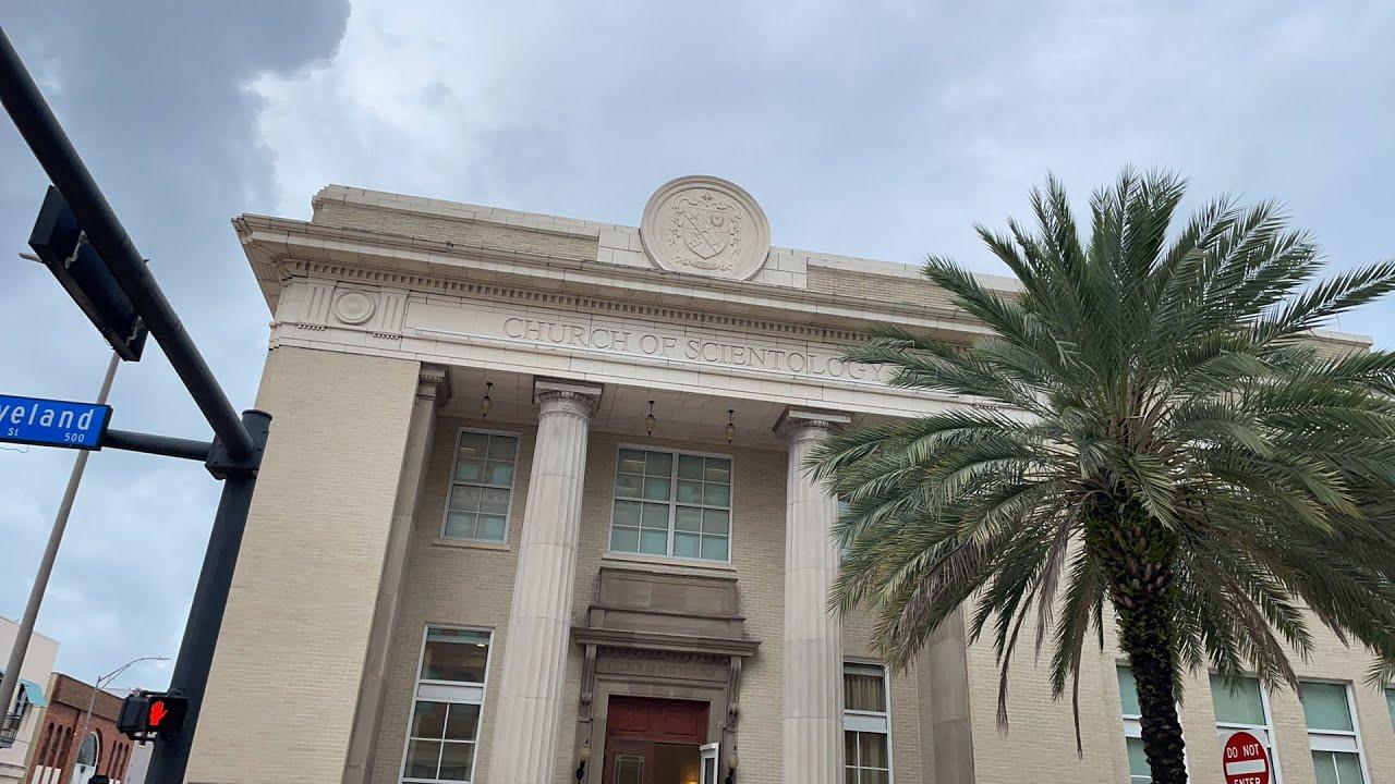 Live at church of scientology FIRST AMENDMENT