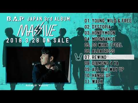 B.A.P「MASSIVE」DIGEST (JAPAN 3rd ALBUM / 2018.3.28)