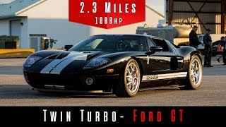 2005 Ford GT Heffner Twin Turbo Package | 1000 HP | (Top Speed)