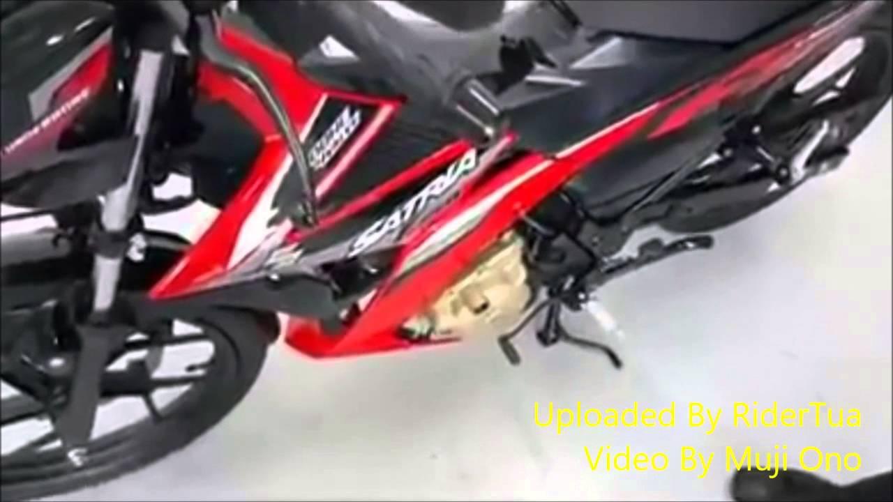 New Suzuki Satria FU Injection Lawan Sepadan Honda Sonic