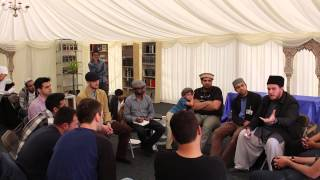 Inspirational New Ahmadi discussion at MKA UK Ijtema 2015