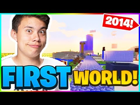 I Revisited My FIRST MINECRAFT WORLD In 2019...