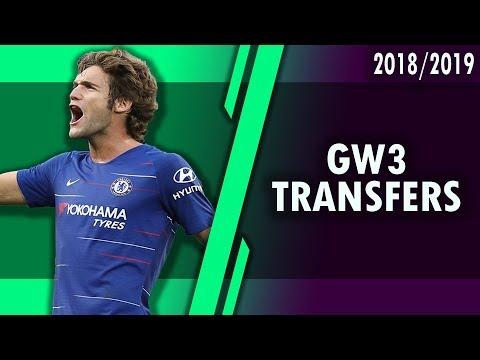 GAMEWEEK 3 BEST TRANSFER OPTIONS! #FPL 2018/2019!
