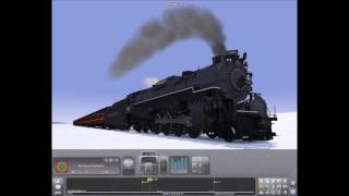 Railworks The Polar Express Ice Scene Reuploaded!