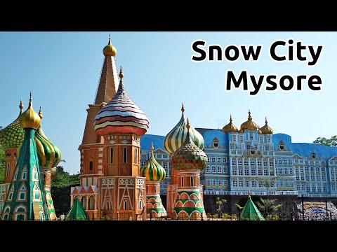 Snow City Mysore Tourism Karnataka Tourism Snow Park In Mysore | Mysore's First Snow Park