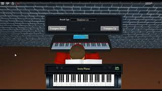 Demons - Night Visions by: Imagine Dragons on a ROBLOX piano. [Revamped]