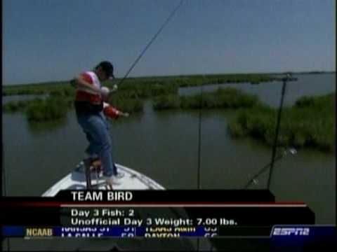 Oh Boy Oberto Redfish Cup - 2004 Chalmette, LA - Keith Bird And Bryant Bird - Video 3