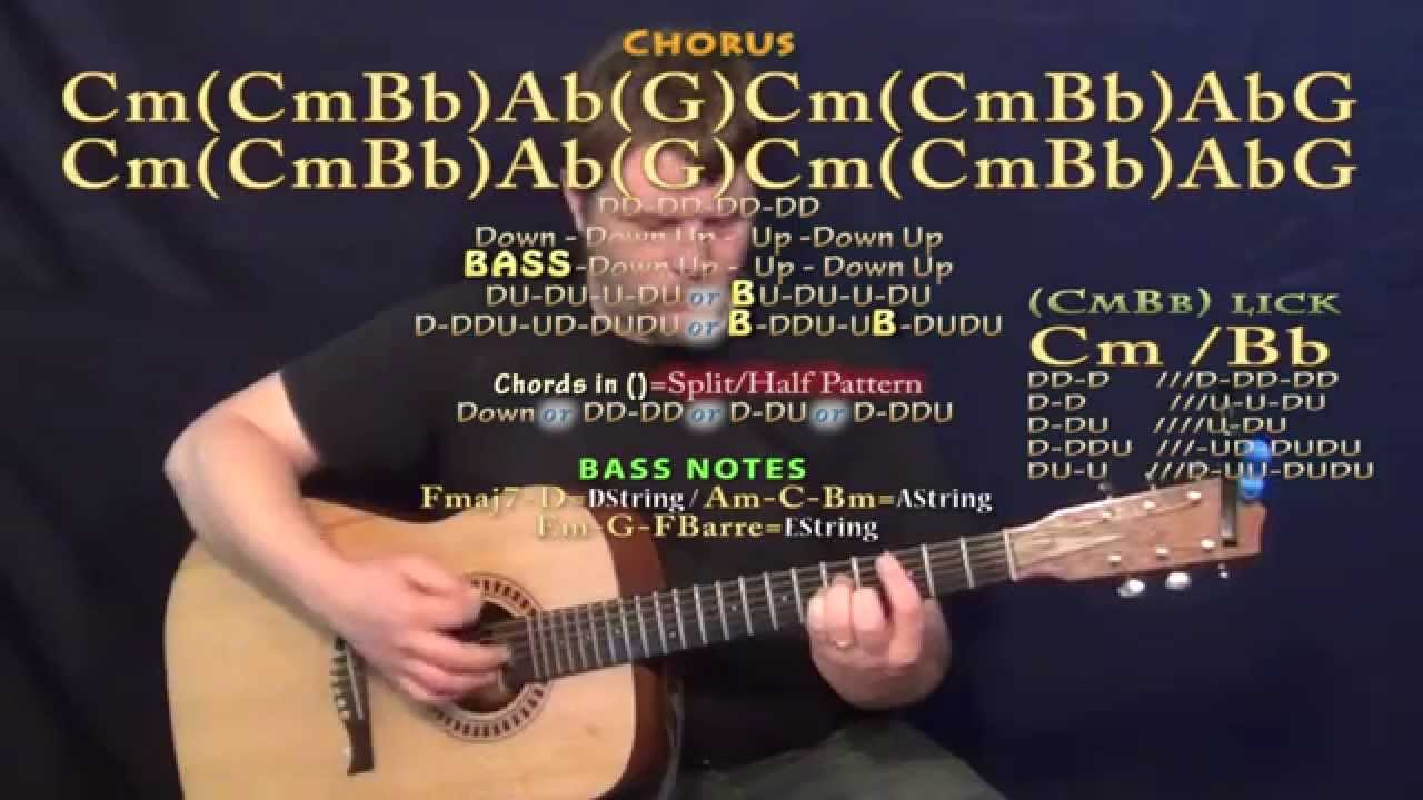Nothing To Loose Empire Guitar Lesson Chord Chart Youtube