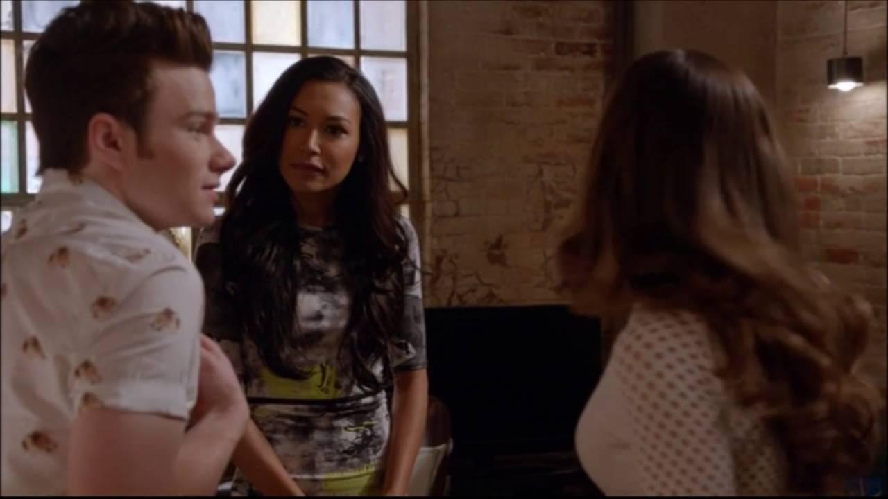 Download Glee - Rachel slaps Santana 5x09