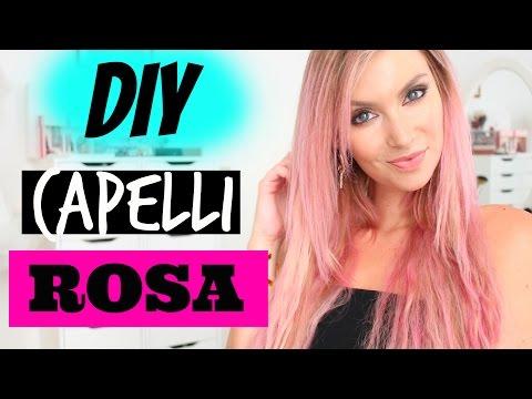 Cambio Look Capelli Rosa Diy In 15 Minuti No Tinta Youtube