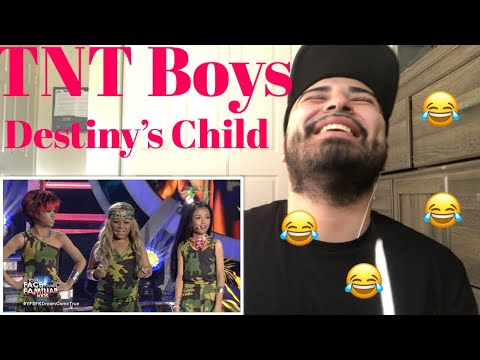 Reacting to the TNT Boys Doing Destiny's Child Survivor