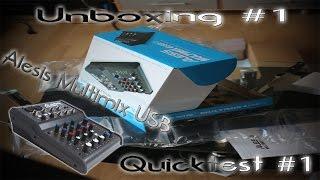 Alesis Multimix 4USB FX Unboxing // Review [GERMAN]