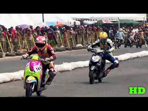 Duel Sengit Scoopy Vs Beat Penyisihan 2 Matic 150cc Tu Pmla Road