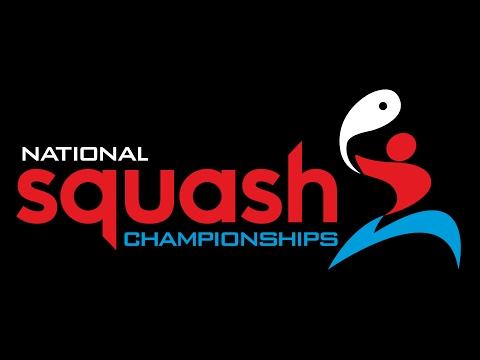British National Squash Championships 2017   MSF2 Matthew v James