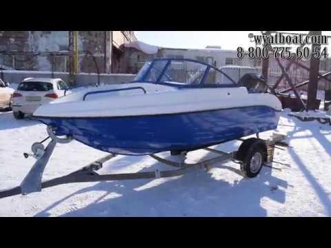 Видеообзор комбинированной моторной лодки Неман 450 Open от компании Вятбот