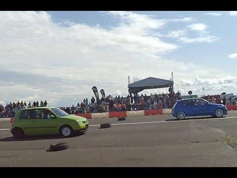 VW Lupo vs Renault Clio Carwars Panenský Týnec 19.8.2017