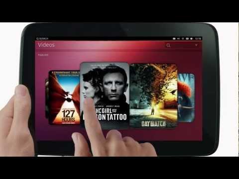 Ubuntu for tablets - Trailer