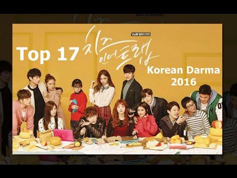 Top korean darma 2016 - 17 ซีรี่ย์เกาหลีน่าดู 2016