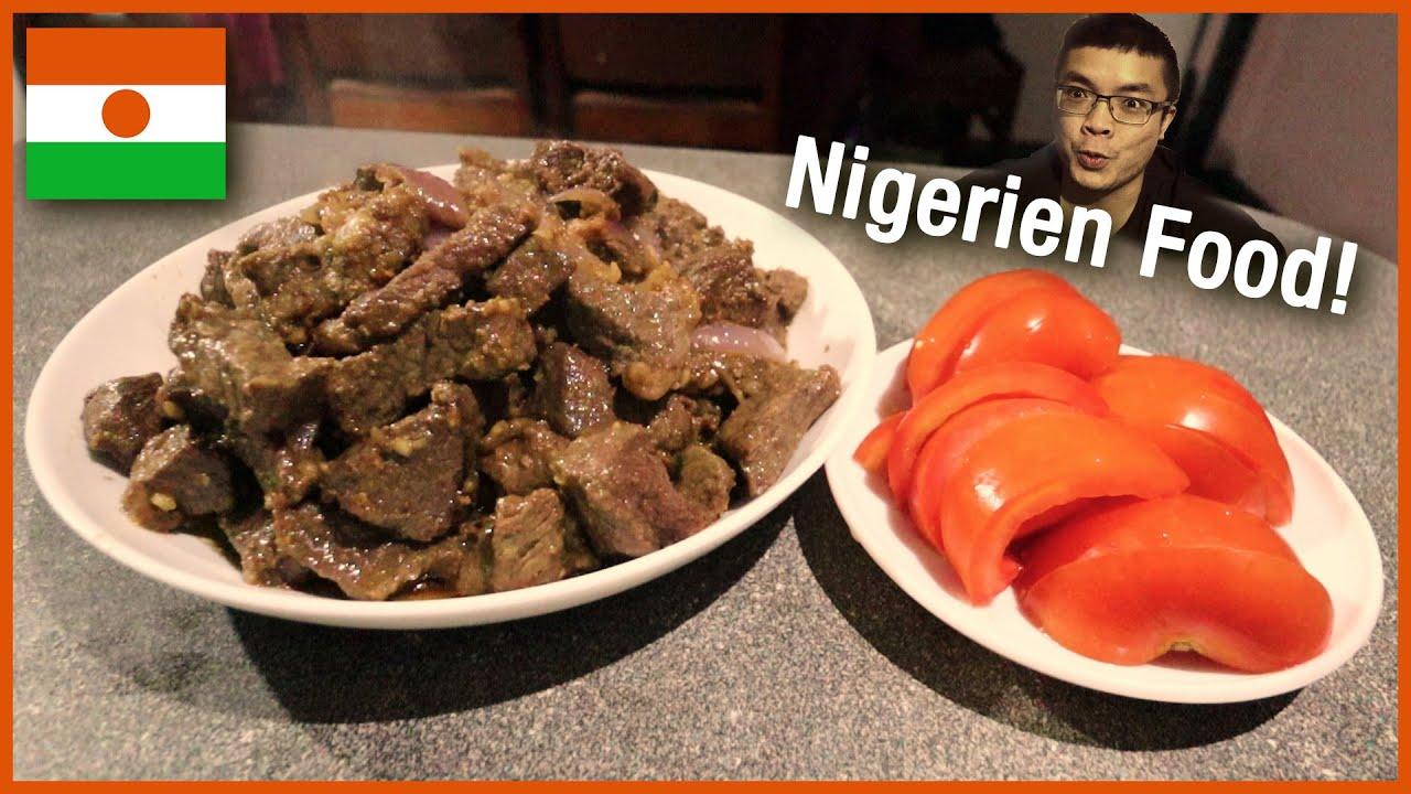 Download I TRY COOKING FOOD from NIGER! (NIGERIEN FOOD - PEPPER SAUCE, BROCHETTES, MILLET PORRIDGE!)