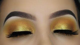 JACLYN HILL X MORPHE VAULT COLLECTION - Golden Eye Makeup Tutorial
