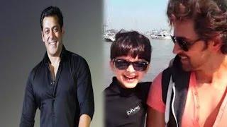 ऋतिक के बेटे हैं सलमान के फैन…! | Hrithik Roshan Miffed at Son's Obsession with Salman Khan…?