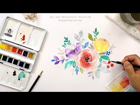 Printable Floral Clip Art for Free Download | Flower Painting