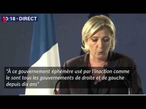 Après l'attaque des Champs-Élysées, Cazeneuve tacle Fillon et Le Pen