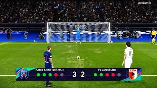 PSG vs Augsburg | Penalty Shootout | PES 2021 Game