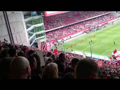 Pfalzlied: 1.FC Kaiserslautern - FC Ingolstadt 1:1 [24.05.2015]