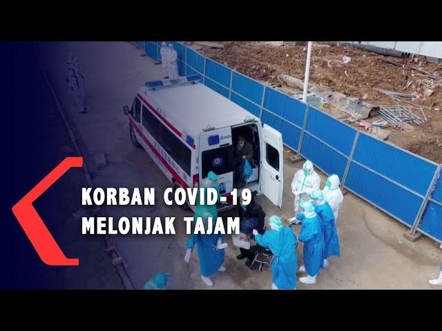 Korban Meninggal Akibat Virus Corona Covid-19 Melonjak Tajam