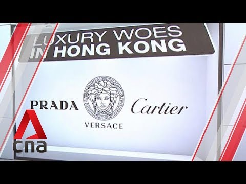 Hong Kong luxury sales slump in August, driving some shops to fold