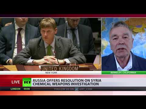 US rejects Moscow-proposed UN mechanism to probe Syria chemical attacks